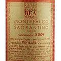 Montefalco Sagrantino - Paolo Bea